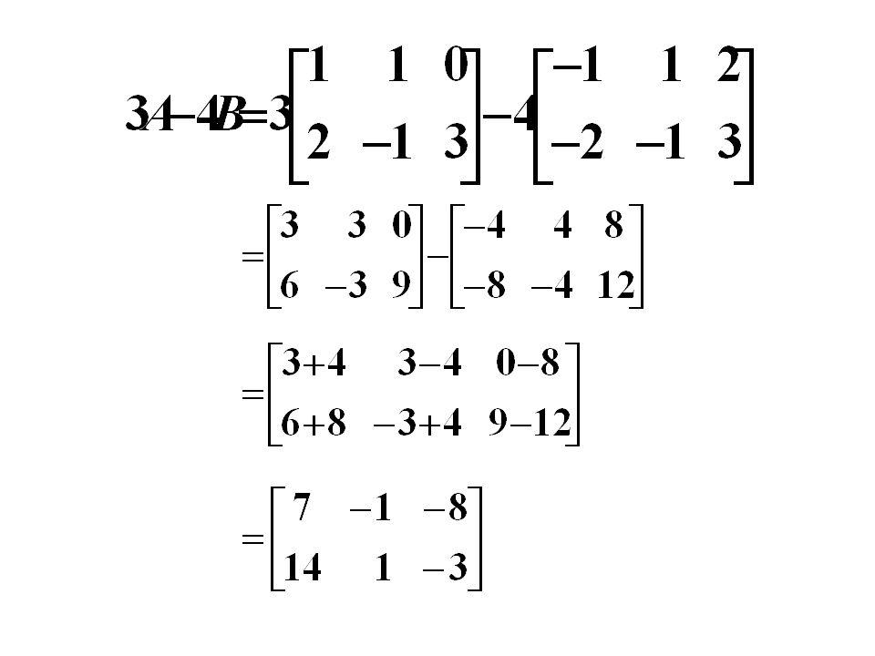 เมทริกซ์ที่มีมิติ m x n และสมาชิกทุกตำแหน่งเป็นศูนย์ เรียกว่า เมทริกซ์ศูนย์ จะเขียนแทนด้วย 0 mxn หรือ 0 เช่น ให้ A, B, C, 0 เป็นเมทริกซ์ที่มีมิติ m x n มีสมบัติ ดังนี้ 1.
