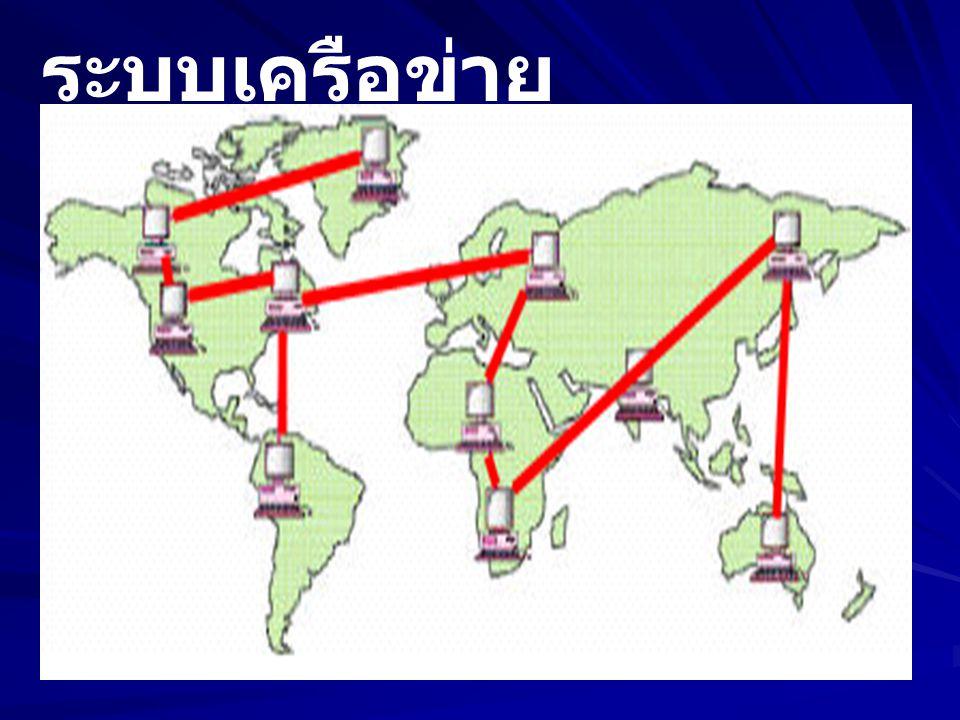 ระบบเครือข่าย ระยะไกล (WAN)