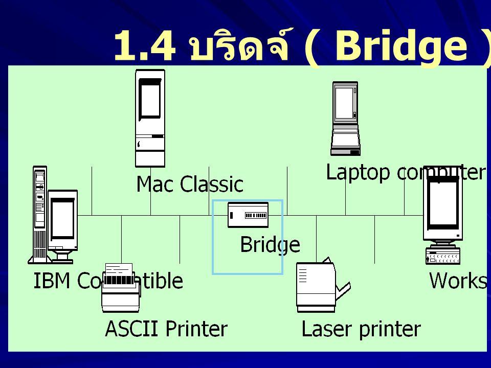 1.4 บริดจ์ ( Bridge )
