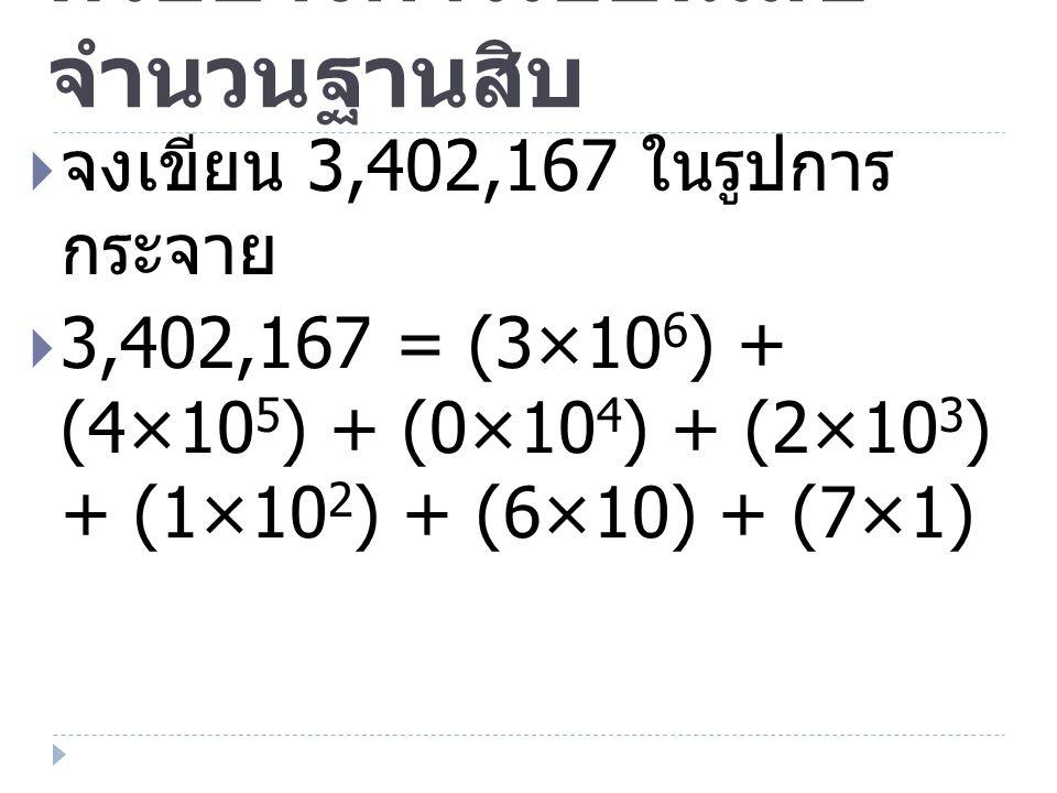 เลขฐานห้า  ใช้แนวทางเดียวกับเลขฐานสิบ  แต่ต่างกันที่มีเลขโดด 5 ตัวคือ 0 1 2 3 4  เมื่อครบ 5 ให้ทดเป็นหลัก ต่อไป