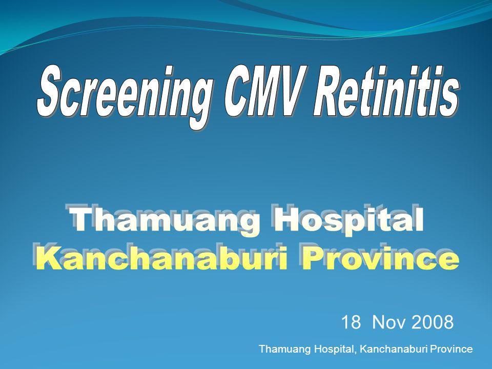 Thamuang Hospital, Kanchanaburi Province 18 Nov 2008