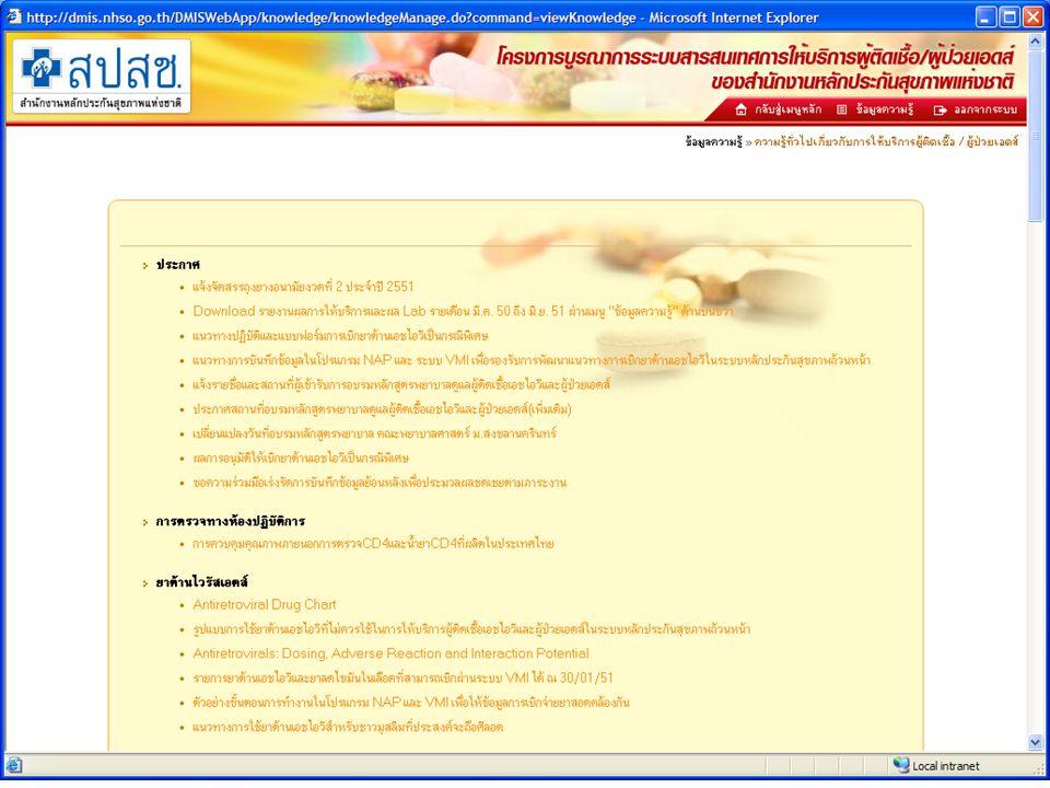 17/11/51DMIS HIV/AIDS (NAP)11