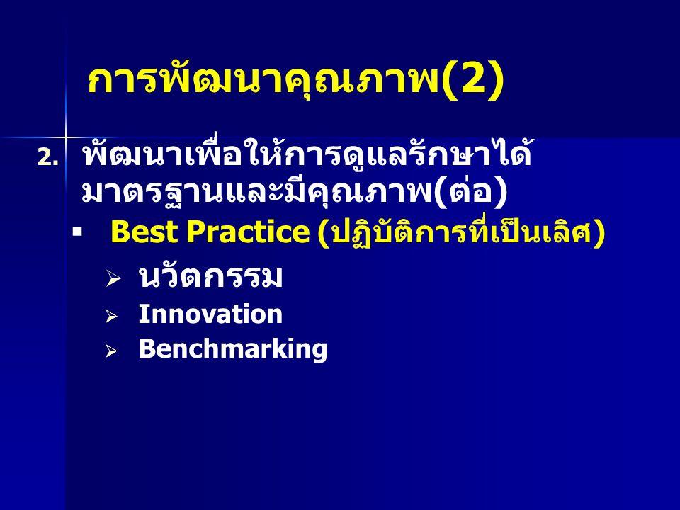 การพัฒนาคุณภาพ (2) 2.2.