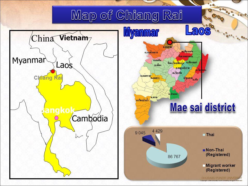 Cambodia Myanmar China Laos Vietnam Bangkok Chiang Rai