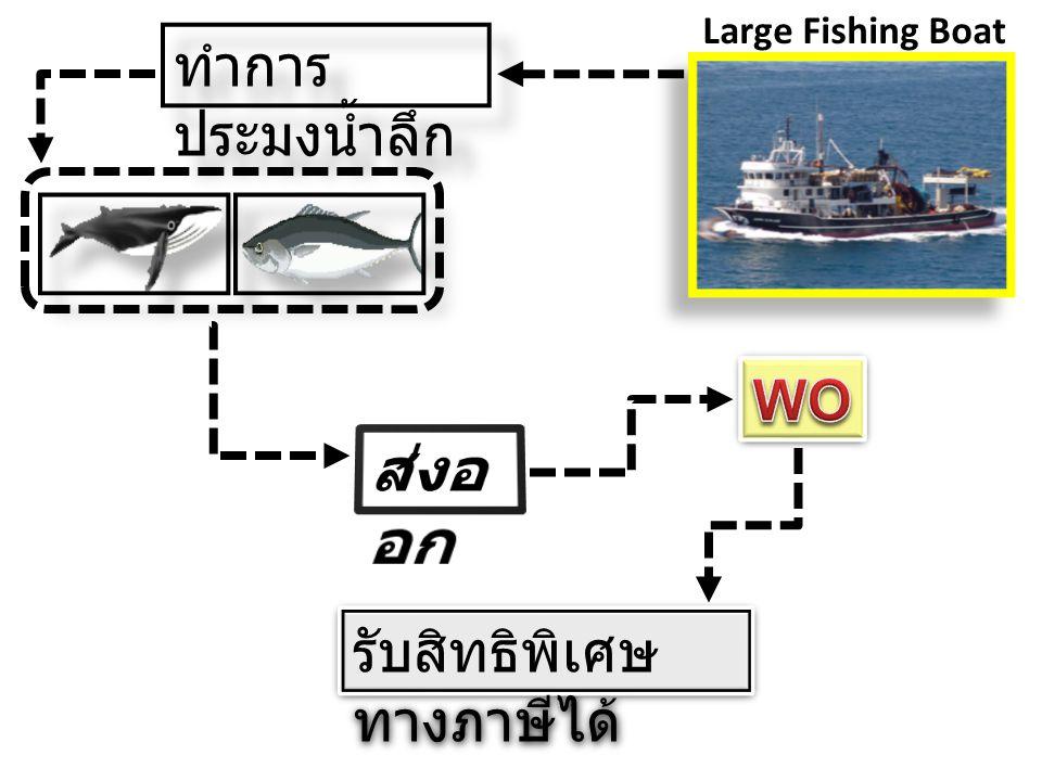 Large Fishing Boat ทำการ ประมงน้ำลึก รับสิทธิพิเศษ ทางภาษีได้