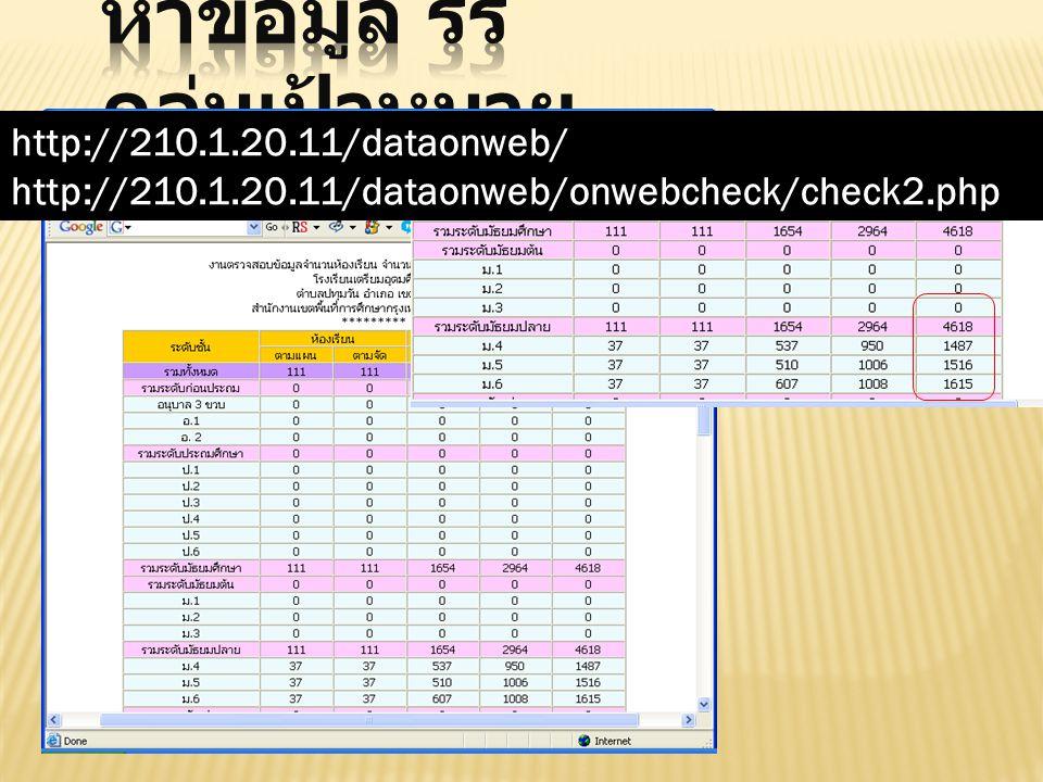 http://210.1.20.11/dataonweb/ http://210.1.20.11/dataonweb/onwebcheck/check2.php
