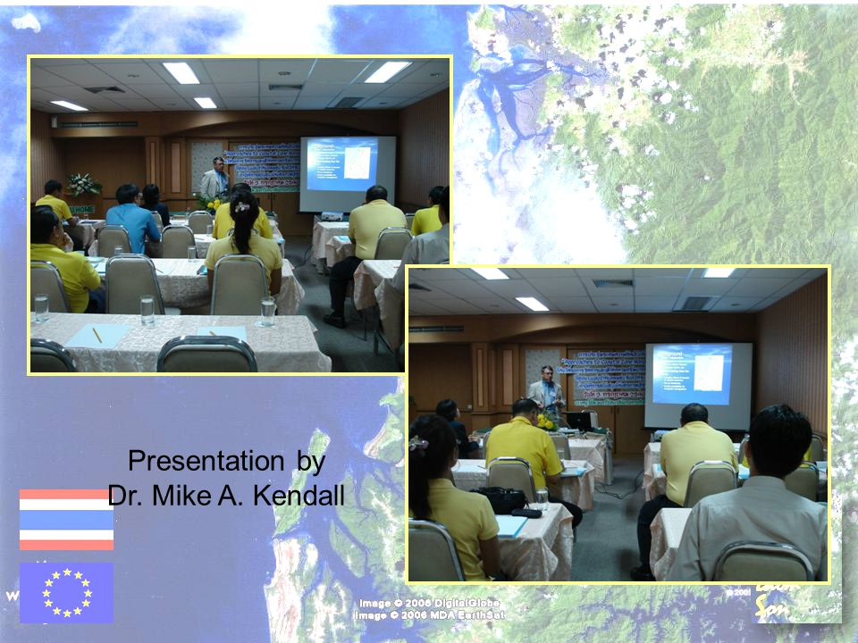 Presentation by Dr. Mike A. Kendall