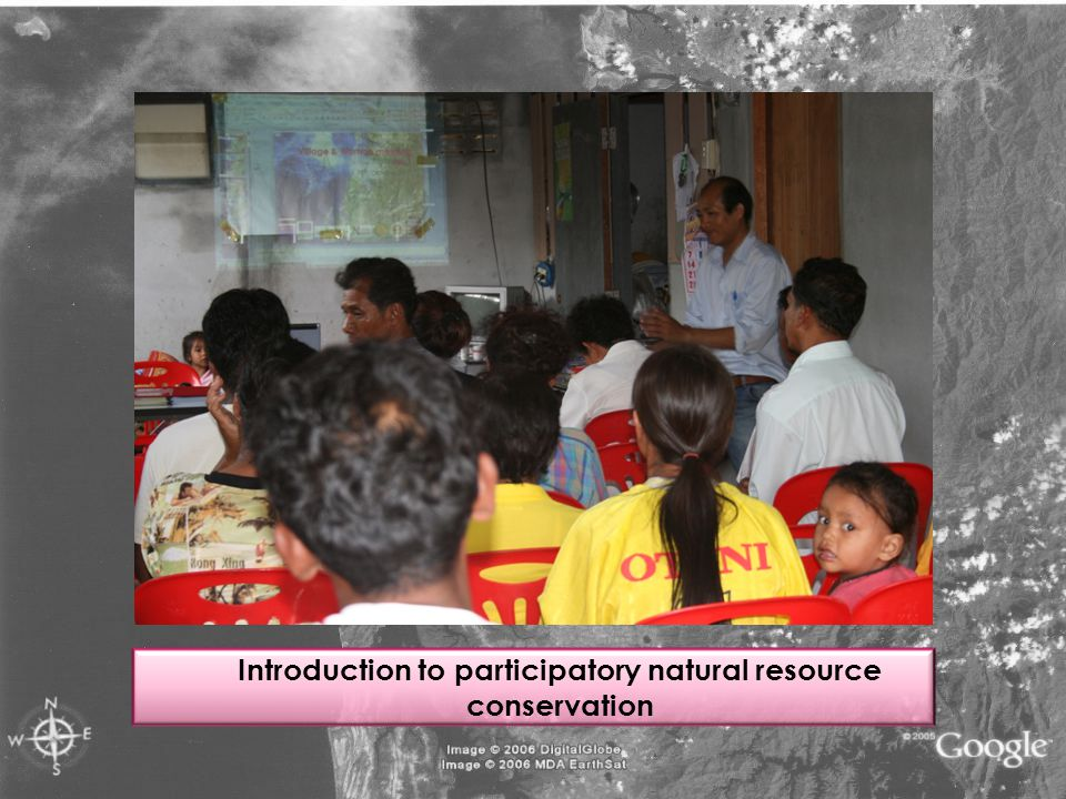 Introduction to participatory natural resource conservation