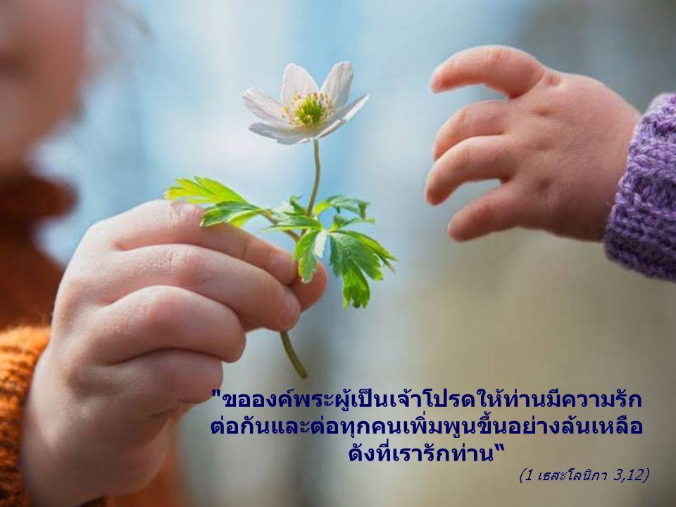 ให้เป็นความรู้จักต้อนรับทุกคนไม่ว่าใครก็ตาม รู้จักสร้างสัมพันธ์ รวมสิ่งที่ดี รวมความปรารถนาดีของทุกคนที่มีน้ำใจ