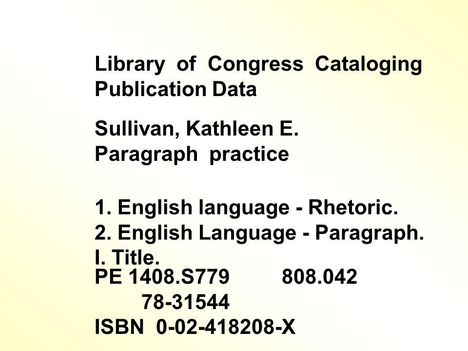 3 9 Sullivan, / Kathleen / E. ชื่อผู้แต่ง 808. 042 S