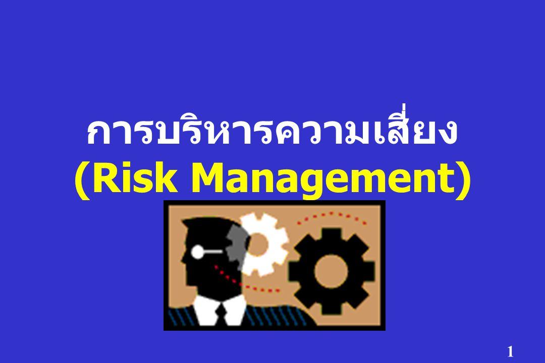 1 การบริหารความเสี่ยง (Risk Management)