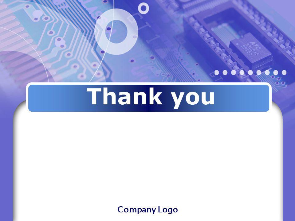 Company Logo Thank you