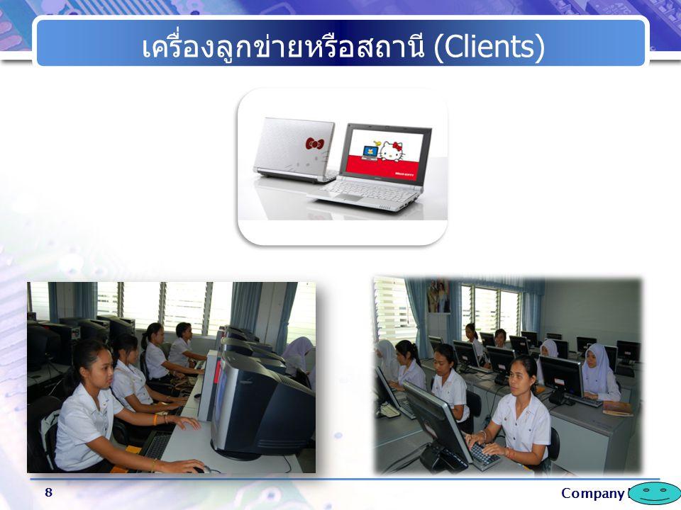 Company Logo การ์ดเครือข่าย (Network Interface Cards) 9 การ์ดเน็ตเวิร์ก หมายถึง แผงวงจรสำหรับใช้ในการเชื่อมต่อสายสัญญาณของ เครือข่าย จะติดตั้งไว้ในเครื่องคอมพิวเตอร์ที่เป็นเครื่องแม่ข่าย และเครื่องที่เป็น ลูกข่าย หน้าที่ของการ์ด คือ แปลงสัญญาณจากคอมพิวเตอร์ส่งผ่านไปตาม สายสัญญาณ ทำให้คอมพิวเตอร์ในเครือข่ายแลกเปลี่ยนข้อมูลข่าวสารกันได้