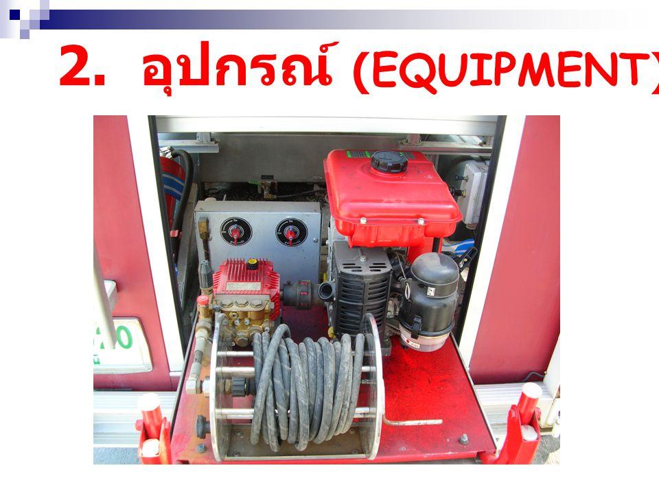 2. อุปกรณ์ (EQUIPMENT)
