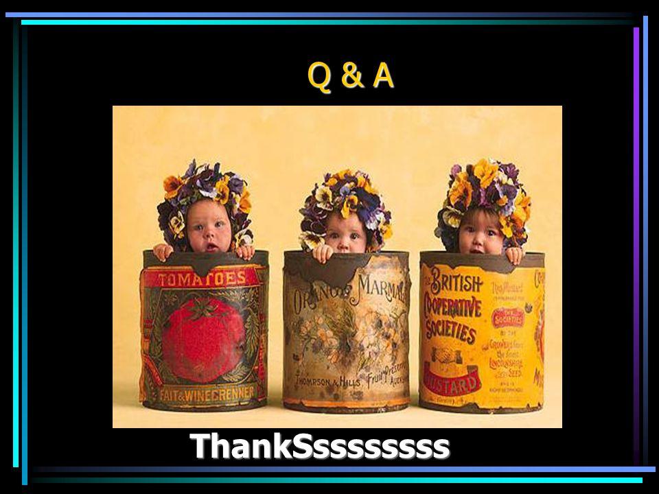 ThankSssssssss ThankSssssssss Q & A