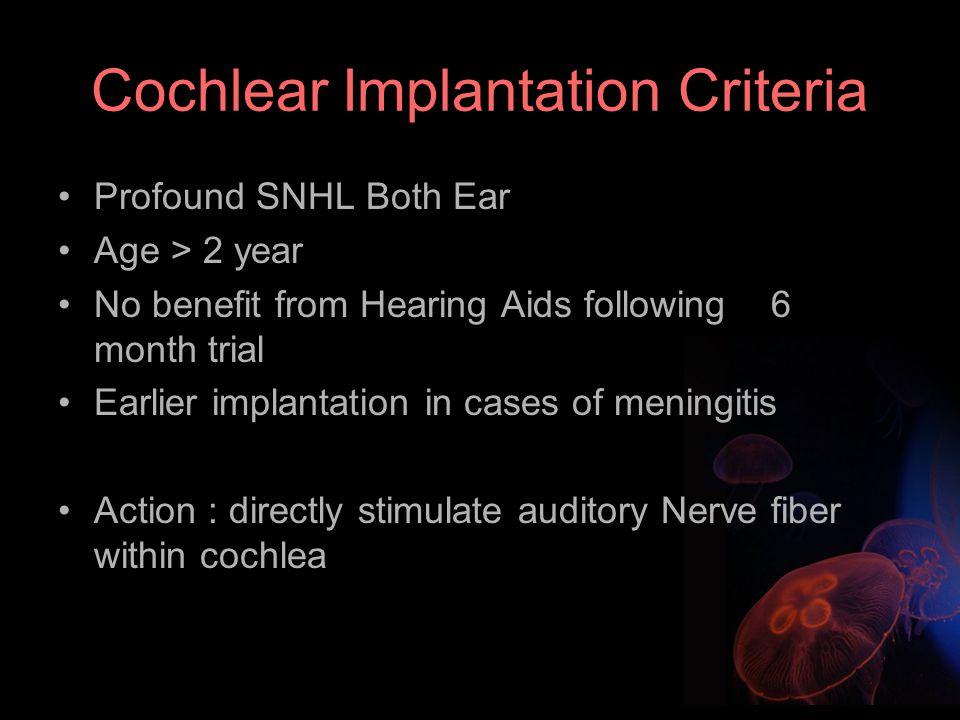 เครื่องช่วยฟัง (Hearing Aid) ปัญหาของการสูญเสียการได้ยินทั้งสองหู ระดับสูญเสียการได้ยินมาก (Moderate to Severe SNHL) โดยจะทำหน้าที่ขยายเสียงที่เด็กจะร