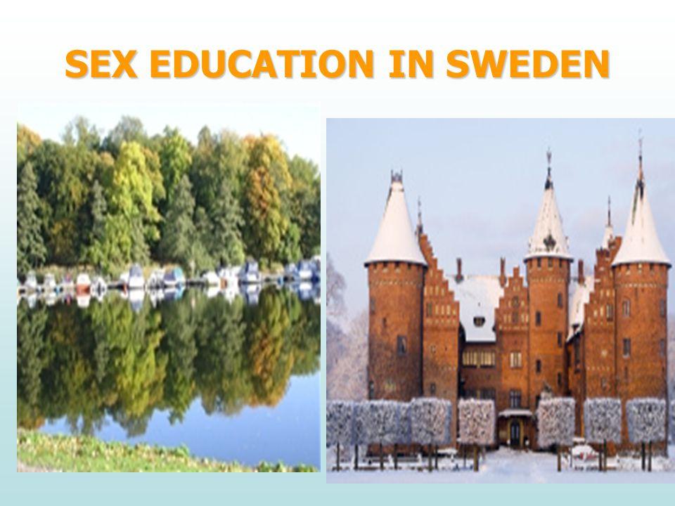 SEX EDUCATION IN SWEDEN