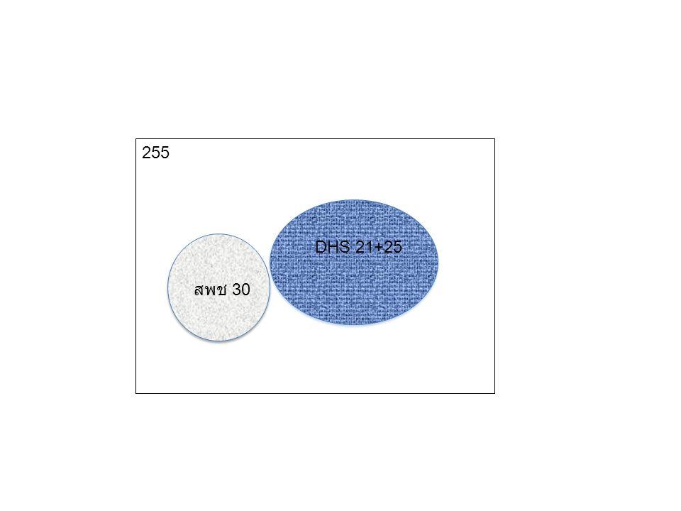 DHS 21+25 สพช 30 255