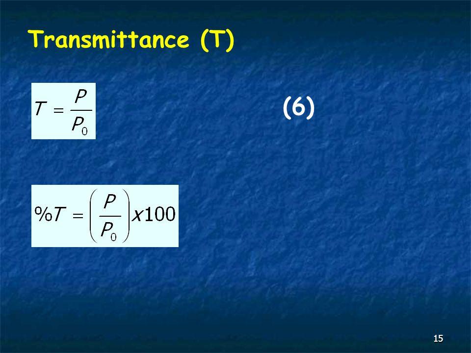 15 Transmittance (T) (6)