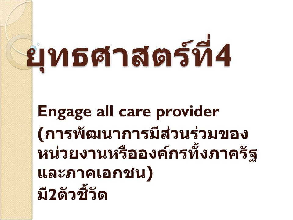 ข้อเสนอแนวทางการ ดำเนินงานวัณโรค ร่วมกันระหว่าง หน่วยงานภาครัฐและ เอกชนในพื้นที่