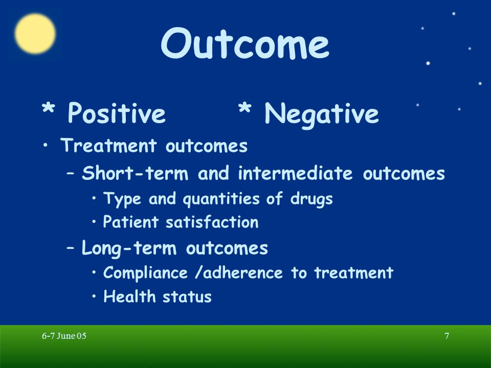 6-7 June 0528 Six Significant Components 5.evaluation of therapies 6.