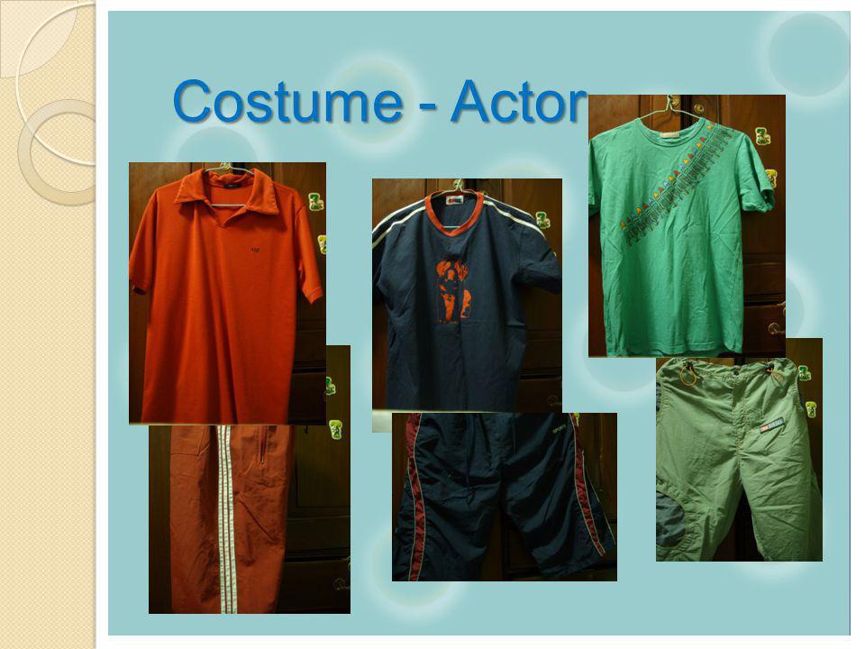 Costume - Actor