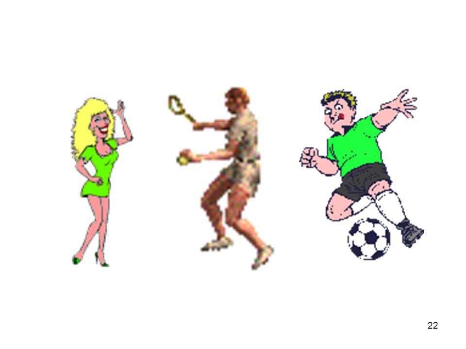 21 ๒. แบบแอร์โรบิค คือ การออก แรงของกล้ามเนื้อขนาดใหญ่เป็น ระยะนาน เพื่อการขนส่งอาหารอ็ อก - ซิเจน และเพื่อขนถ่ายของเสียออก จากกล้ามเนื้ออย่างต่อเนื่อ