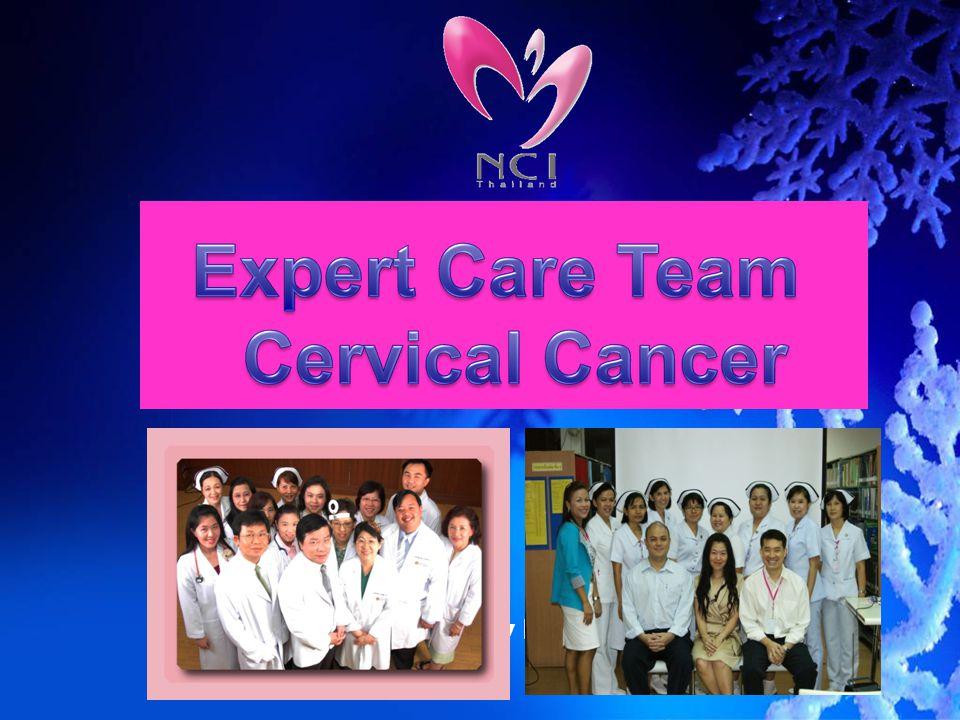 การเชื่อมโยงข้อมูลระหว่างหน่วยงาน รังสีรักษา ห้องผ่าตัด รังสีวินิจฉัย เคมี และอื่น ๆ ทีมพัฒนาคุณภาพ มะเร็งนรีเวช หอผู้ป่วย Team ECT; Cervix ECT cervix;2010