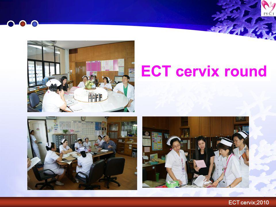 ECT cervix round ECT cervix;2010