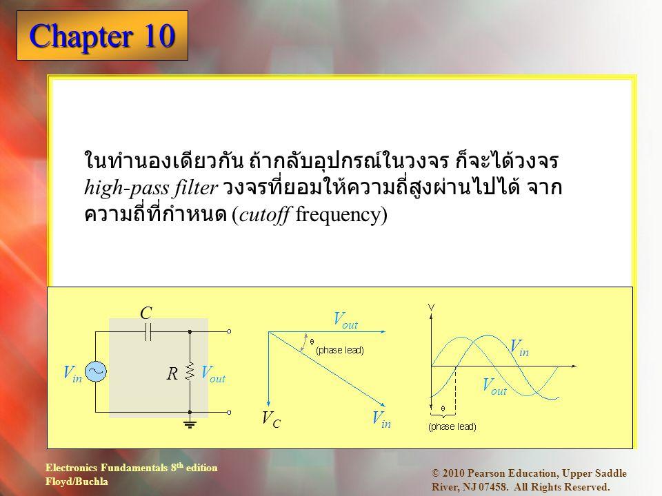 Electronics Fundamentals 8 th edition Floyd/Buchla Chapter 10 © 2010 Pearson Education, Upper Saddle River, NJ 07458.