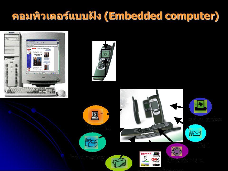 คอมพิวเตอร์แบบฝัง (Embedded computer)