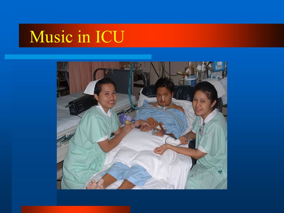 Music in ICU