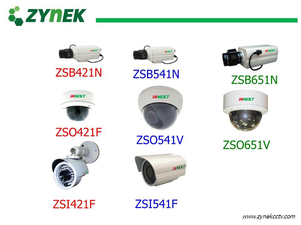 www.zynekcctv.com ZSB541N ZSB651N ZSO421F ZSO541V ZSO651V ZSI421F ZSI541F ZSB421N
