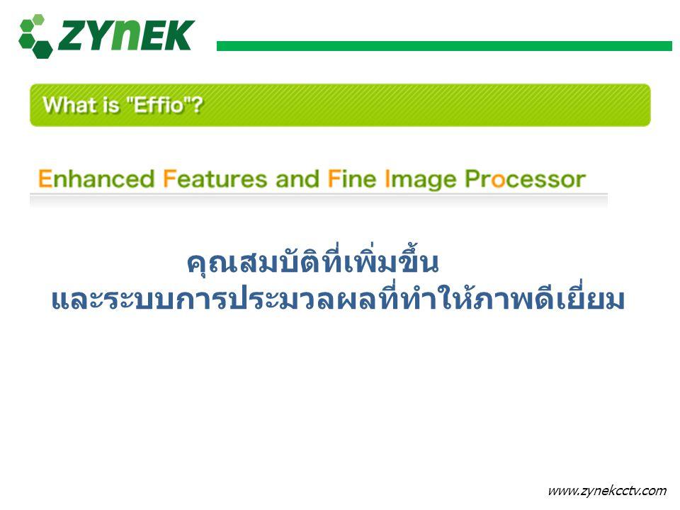 www.zynekcctv.com Effio Promises You No.1 Image Quality & Performance