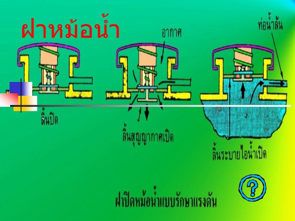 วาล์วน้ำ ติดตั้งอยู่บริเวณทางเดินของน้ำ ระหว่างหม้อน้ำกับปั้มน้ำทำหน้าที่ ควบคุมอุรหภูมิของเครื่องยนต์ให้อยู่ ประมาณ 85 องศา