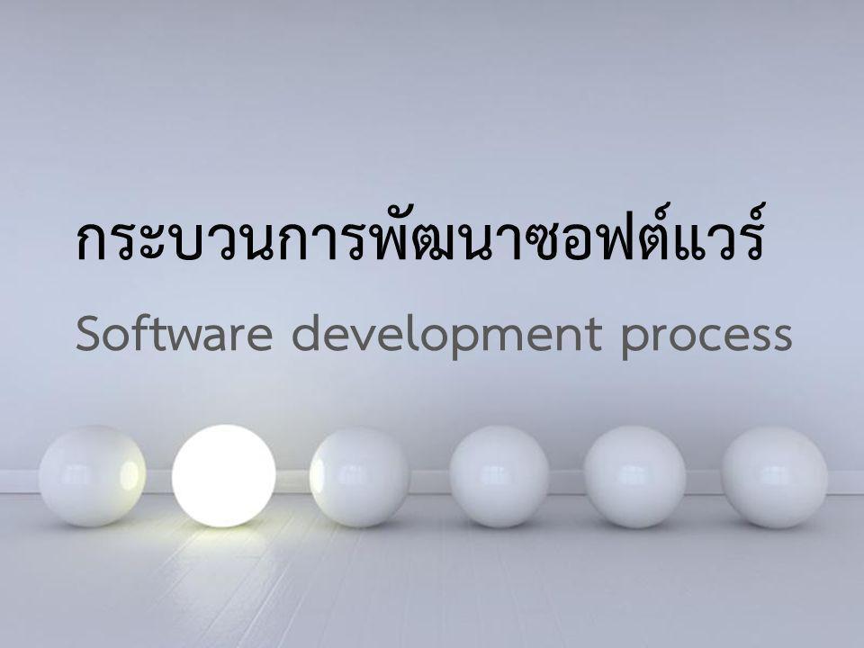 Powerpoint Templates 15 Powerpoint Templates กระบวนการพัฒนาซอฟต์แวร์ Software development process