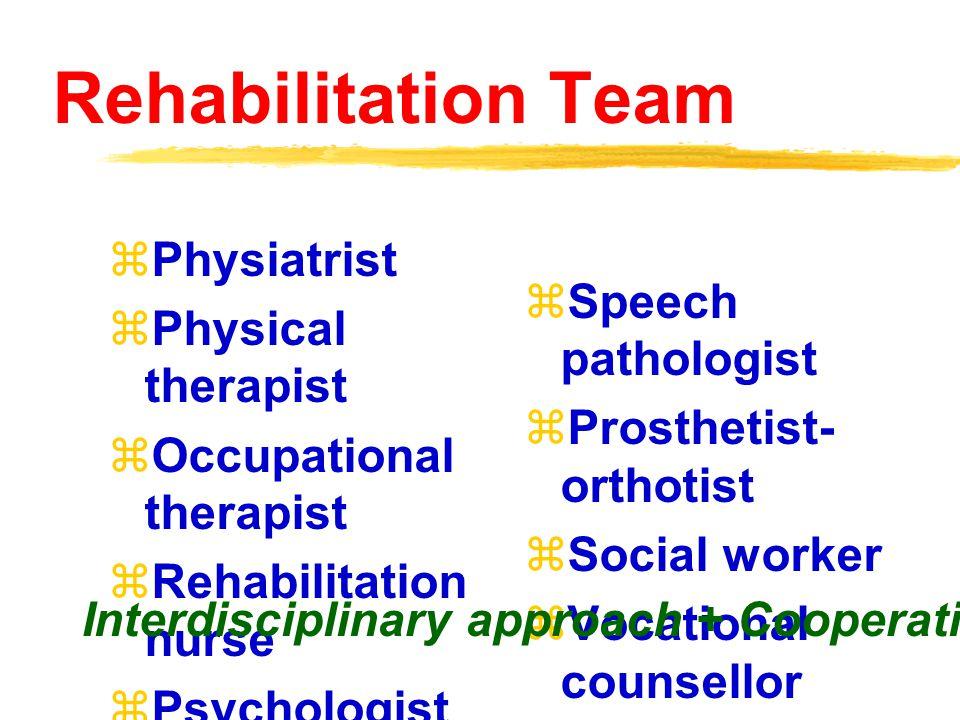 Patients need rehabilitation  Neurological problems  Musculoskeleta l problems  Rheumatologic al problems  Pediatric problems  Cardiopulmona ry p