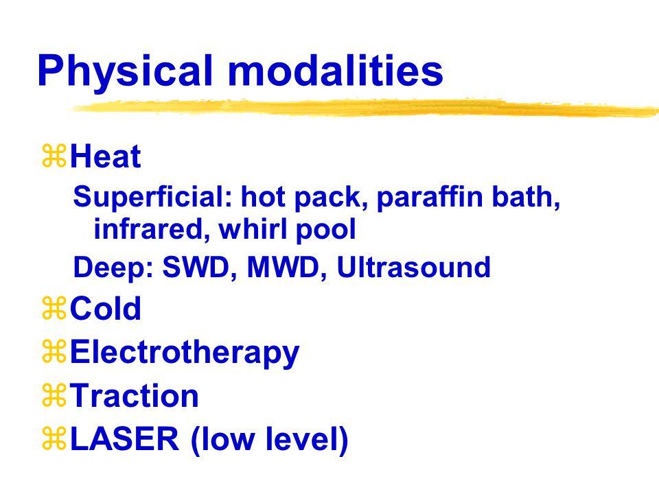 PHYSICAL THERAPIST: PT  Therapeutic exercises (ROM, strength, endurance)  Ambulation training  Physical modalities  Neurofacilitation techniques  Pulmonary rehabilitation  Developmental stimulation