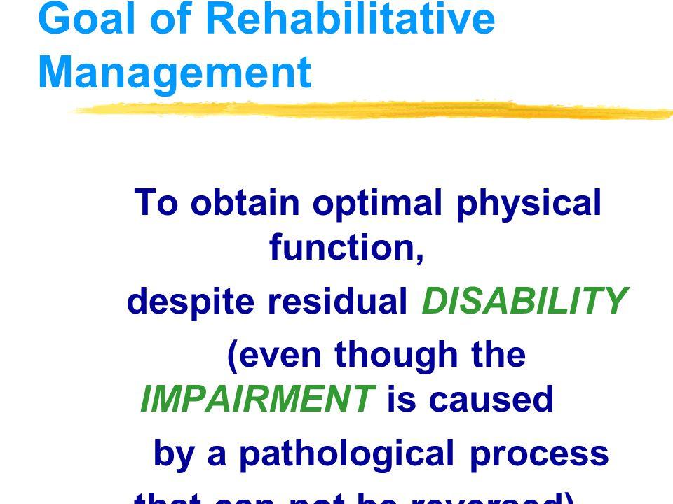 HEALTH PROGRAM PROMOTIVE PREVENTIVE CURATIVE DISABILITY LIMITATION REHABILITATION