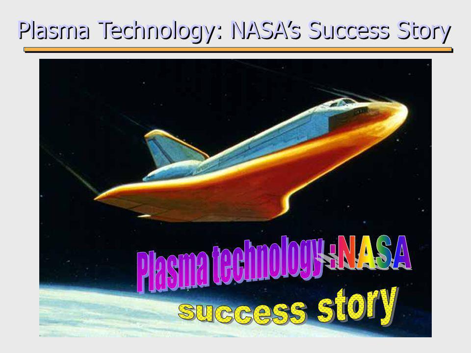 Plasma Technology: NASA's Success Story
