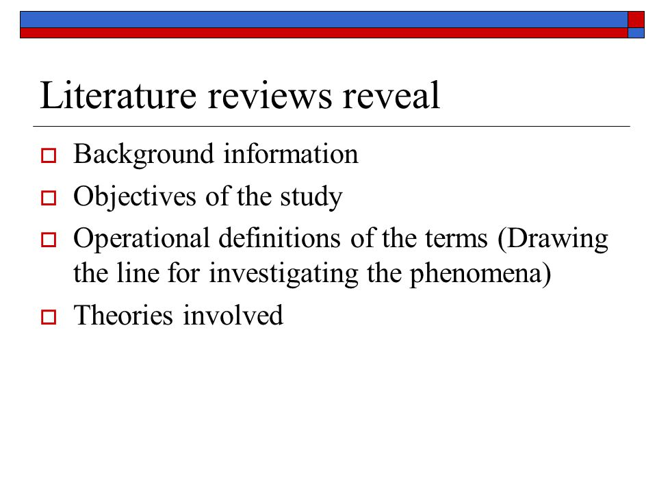How to do a literature search  Consult general sources (Texts)  Consult professional texts  Track down articles referenced in those books  Track down research that they reference  Scan recent issues of journals where you have found previous articles related to your topic or that are general in scope.