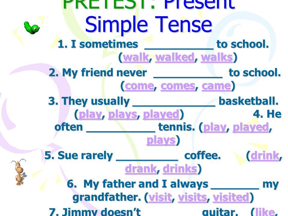 การใช้ Present Simple Tense ใช้กล่าวถึงเหตุการณ์ที่ เกิดขึ้นในปัจจุบัน