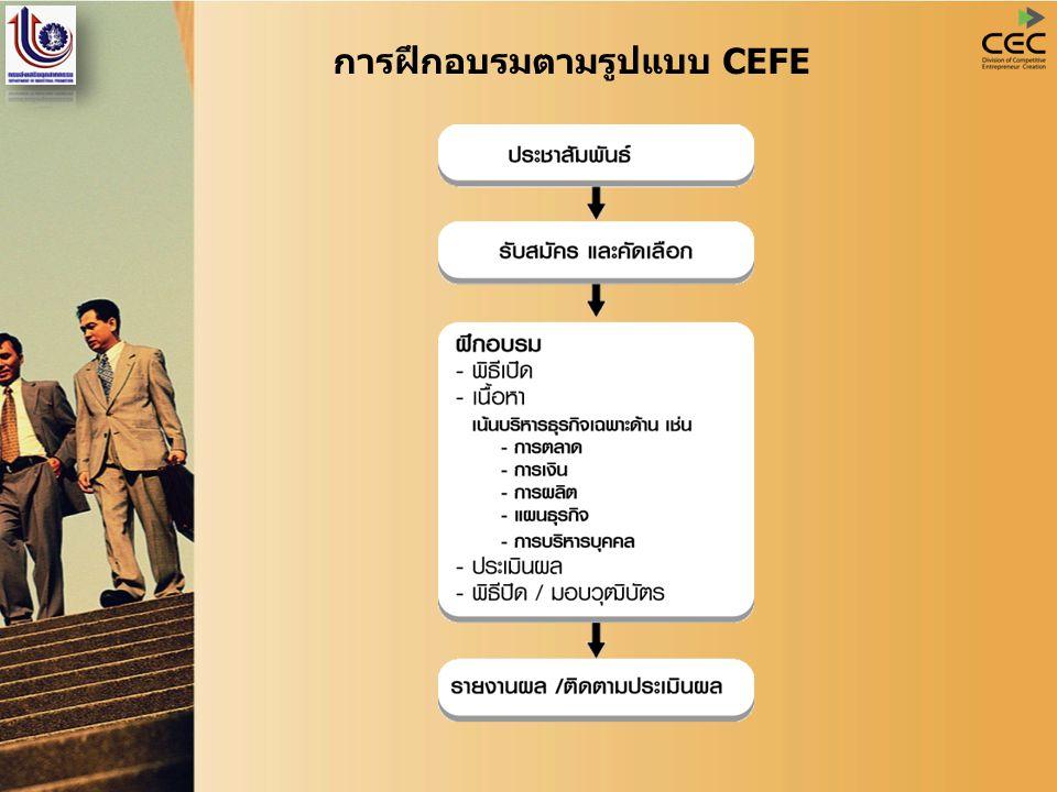 การฝึกอบรมตามรูปแบบ CEFE