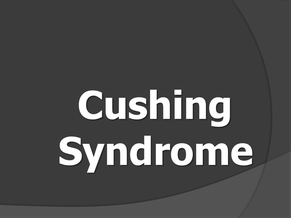 โรค Cushing syndrome สาเหตุ สาเหตุ เกิดจากการมี Steroid Hormone ใน เลือดสูงกว่าปกติ ส่วน ใหญ่เป็นผลมา จากการใช้ยา Steroid ทำให้มี Cortisol มาก เกินไป Primary มาจากต่อม หมวกไต Primary Cushing syndrome มาจากต่อม หมวกไต Secondary มาจากต่อม ใต้สมองส่วนหน้า Secondary Cushing syndrome มาจากต่อม ใต้สมองส่วนหน้า