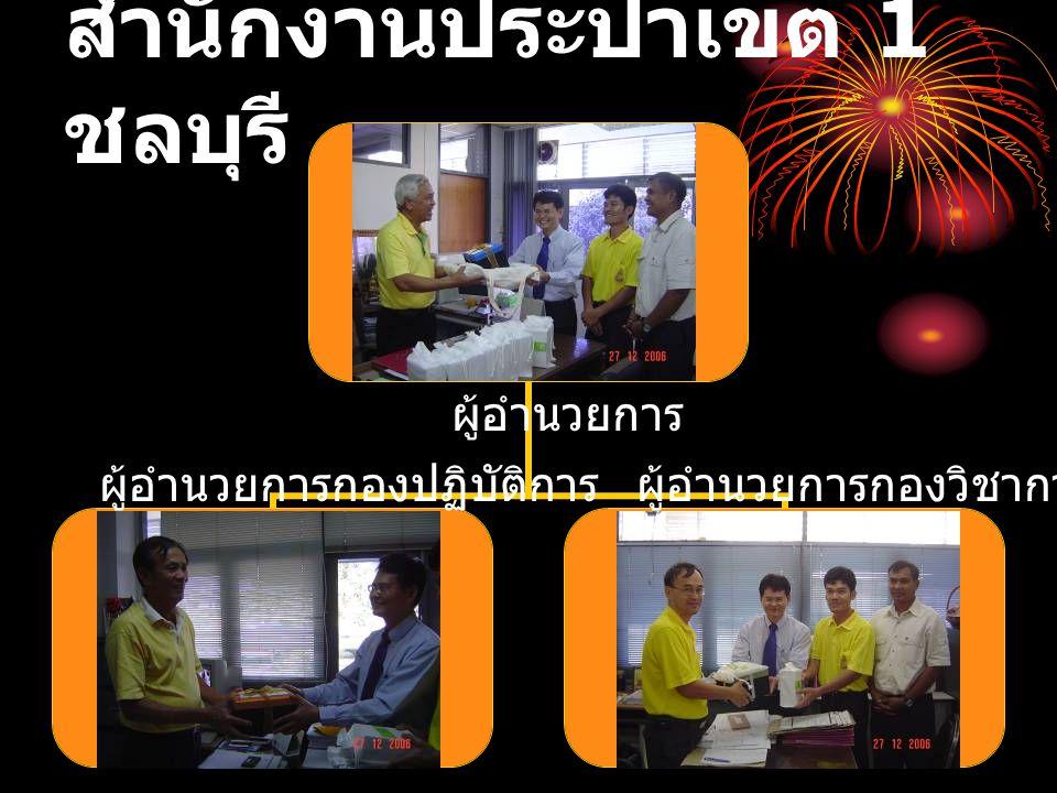 สำนักงานประปาเขต 1 ชลบุรี ผู้อำนวยการ ผู้อำนวยการกองวิชาการ ผู้อำนวยการกองปฏิบัติการ