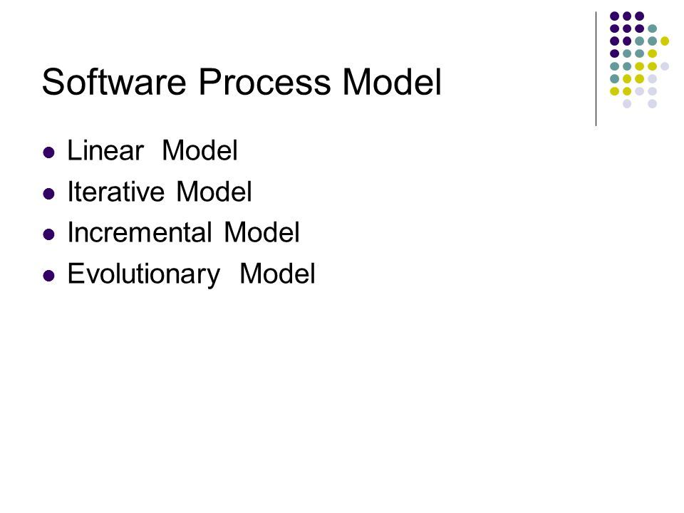 The Linear Model หรือ Classic Life Cycle, Waterfall Model