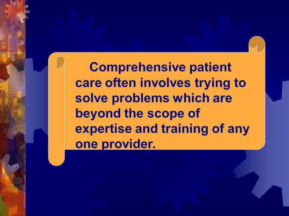 ตัวอย่าง วิธีดำเนินงาน  แพทย์ GRN ประเมินผู้สูงอายุโรค สมรรถภาพ ของร่างกายวางแผนดูแล & จำหน่ายผู้ป่วย  เภสัชกร review เรื่องยาที่ได้รับ  โภชนากรแนะนำเรื่องการให้อาหาร  สมาชิกในทีมพบกันสัปดาห์ละ 1 ครั้งเพื่อทราบ ข้อมูลผู้ป่วยใหม่ รับมอบผู้ป่วยที่ได้รับส่งต่อ  เสนอความก้าวหน้าผู้ป่วยรายเก่าและที่กลับบ้าน  พยาบาลเยี่ยมบ้านรายงานประเมินการดูแลที่ บ้าน