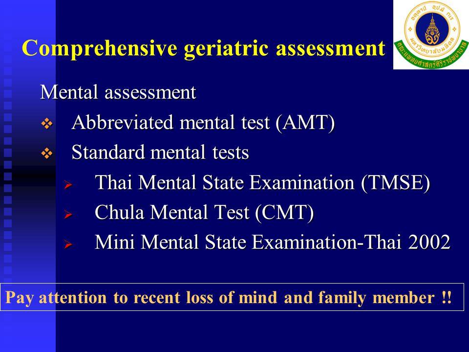 Mini Nutrition Assessment (MNA)