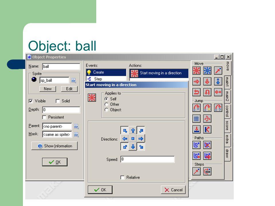 Object: ball