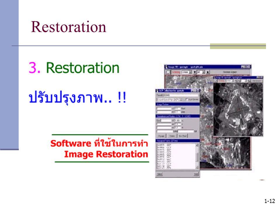 1-12 Restoration